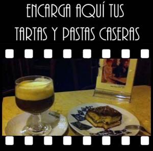 Tartas y pastas caseras por encargo en café Ajenjo