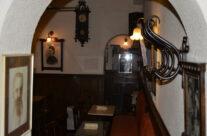 Decoración Vintage del Café Ajenjo