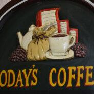 Today´s coffee in Café Ajenjo
